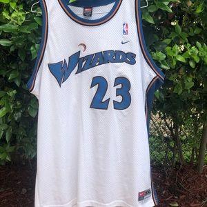 "Micheal Jordan Nike Jersey ""Wizards"""
